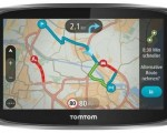 Picture of a TomTom GO 6000 in car sat nav